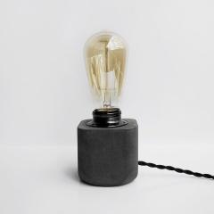 HALF 半嵌金屬圓角設計水泥燈 / Dark concrete lamp