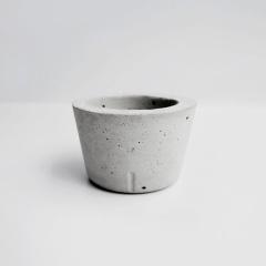 CHUBBY 胖胖圓水泥盆器 / Rounded concrete pot