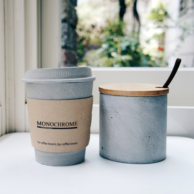 灰調CAFE-水泥咖啡杯