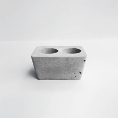 DUET 重奏磚型水泥盆器 / Brick concrete pot