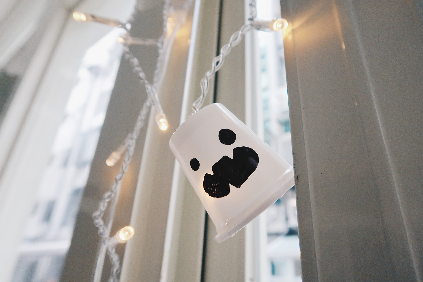 DIY萬聖節可愛幽靈LED燈