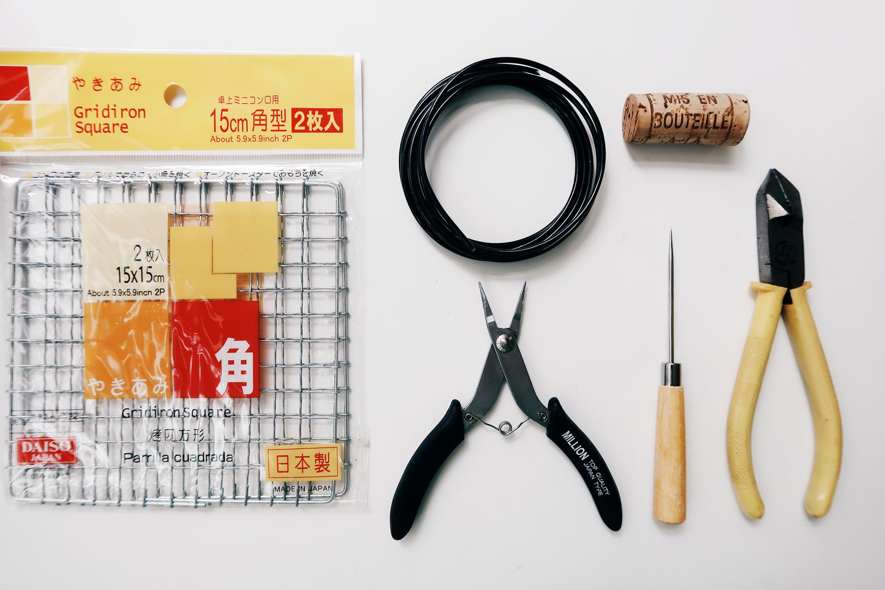 DIY 收納擺飾小黑鐵籃:Sept 1