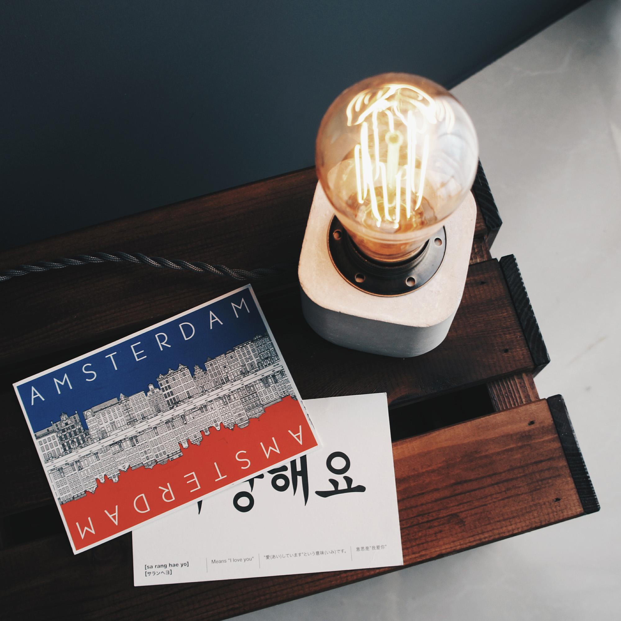 Concrete Design 水泥設計家飾・桌燈・禮物