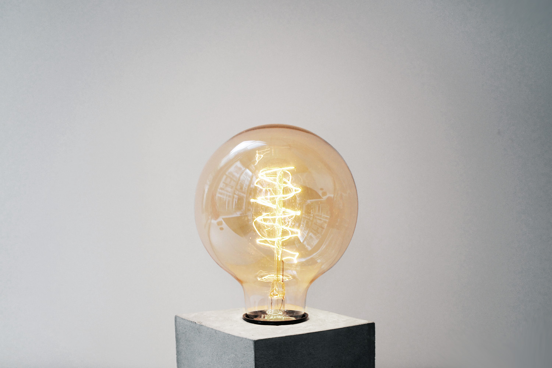 G95 復古圓球繞絲鎢絲燈泡