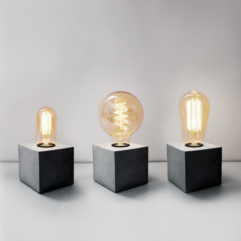 復古鎢絲燈泡系列三款