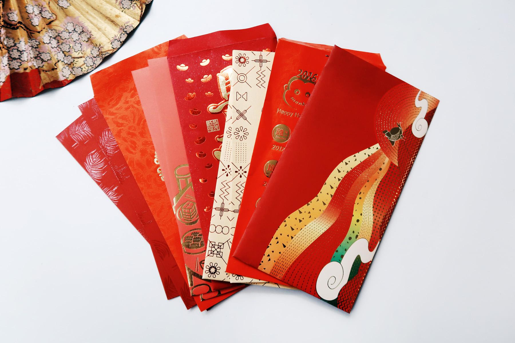 / 灰調 / DIY手作小教學:立體錦鯉紅包袋 - 準備過年紅包袋