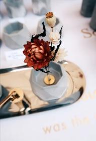 百年紀念水泥花器/燭台/線香座擺飾