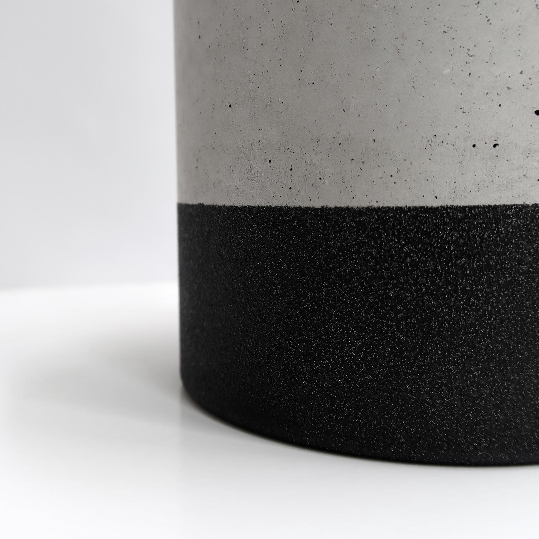 TEKTITE 黑隕石等圓水泥設計家飾・擺飾・禮物