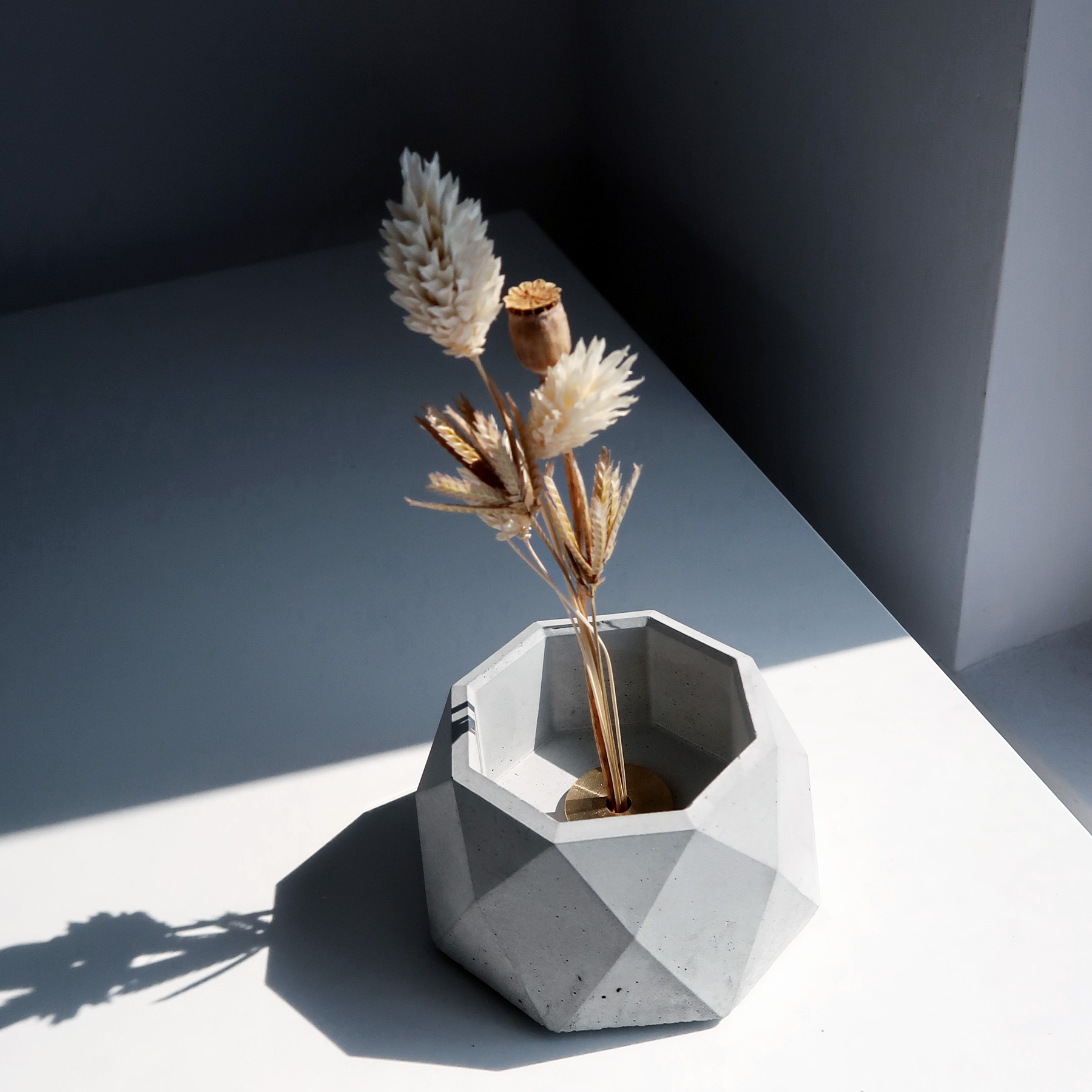 CENTENARY 百年紀念多用途水泥花器・花插・擺飾