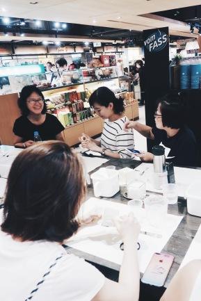 2018/8/18 誠品敦南店:上課花絮與記錄