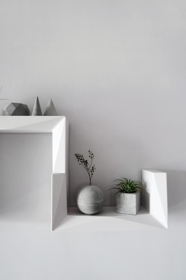DIY 居家佈置 / 幾何美學・3M 無痕置物收納 x 灰調 MONOCHROME