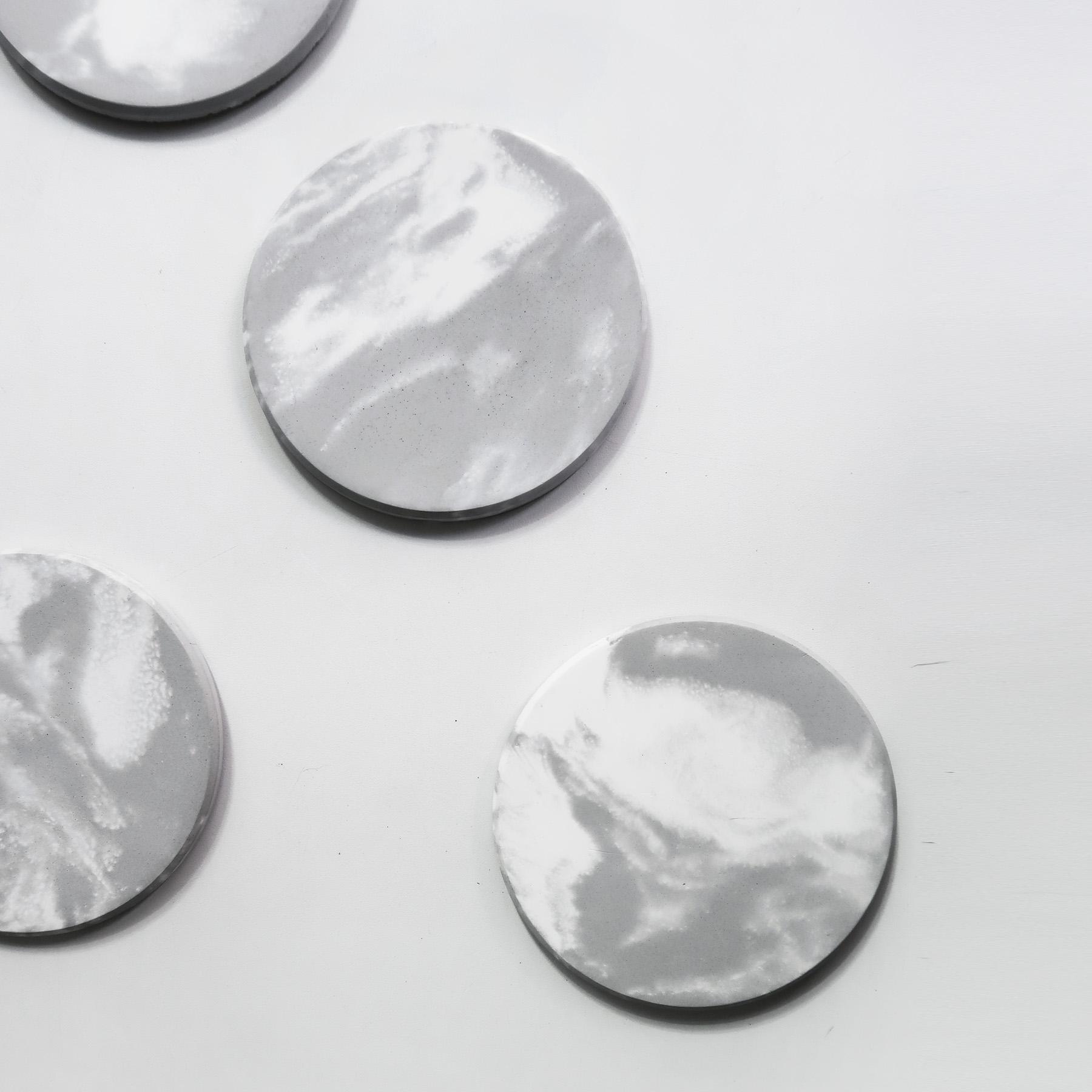Concrete Decor 水泥設計吸水圓墊・杯墊・飾品盤