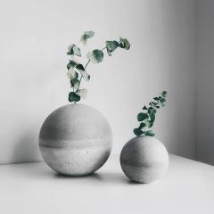 PLANET 小星球水泥花器・紙鎮・線香座 / Concrete vase, paper weight, incense holder