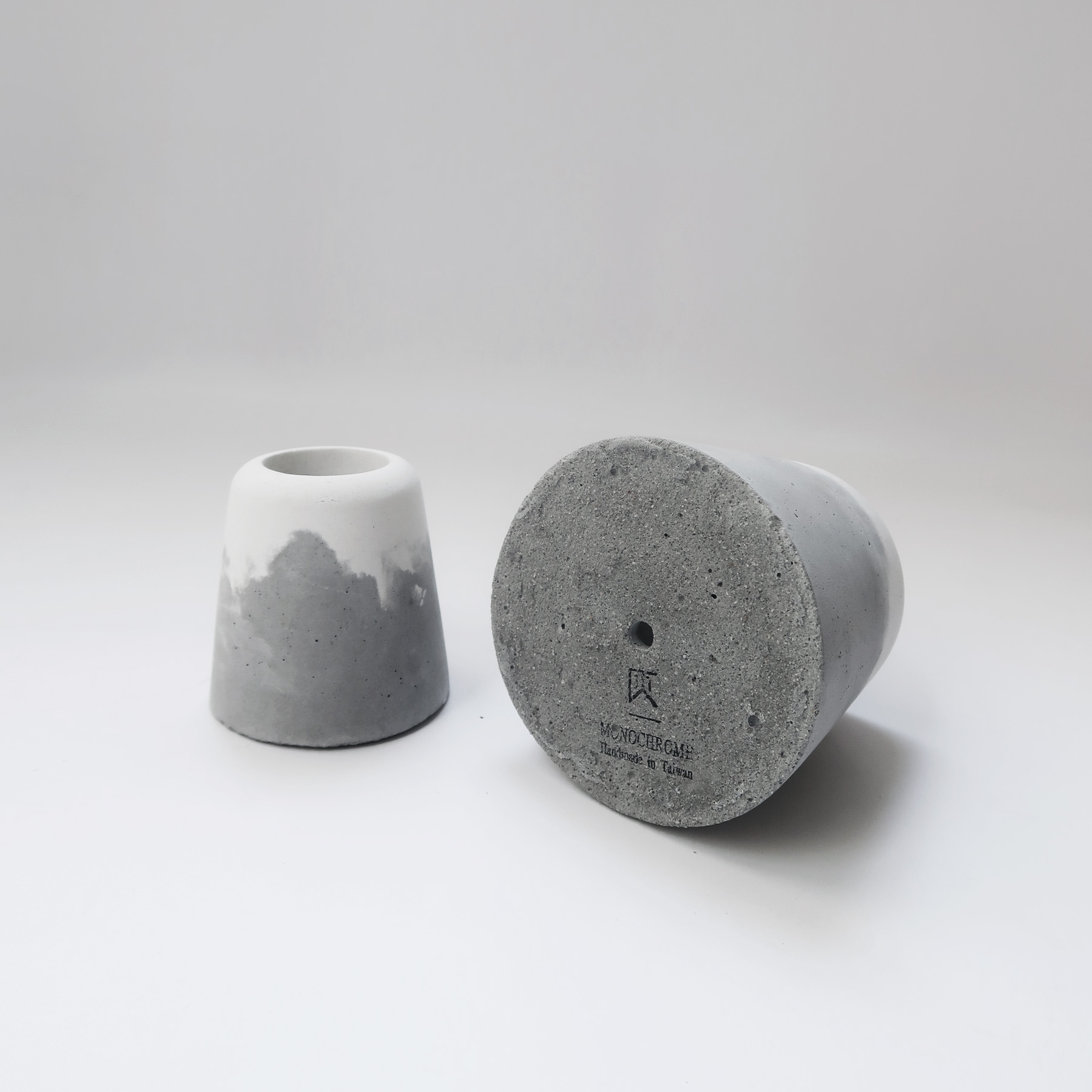 SNOW VOLCAN 大雪火山水泥設計盆器・盆栽・花器