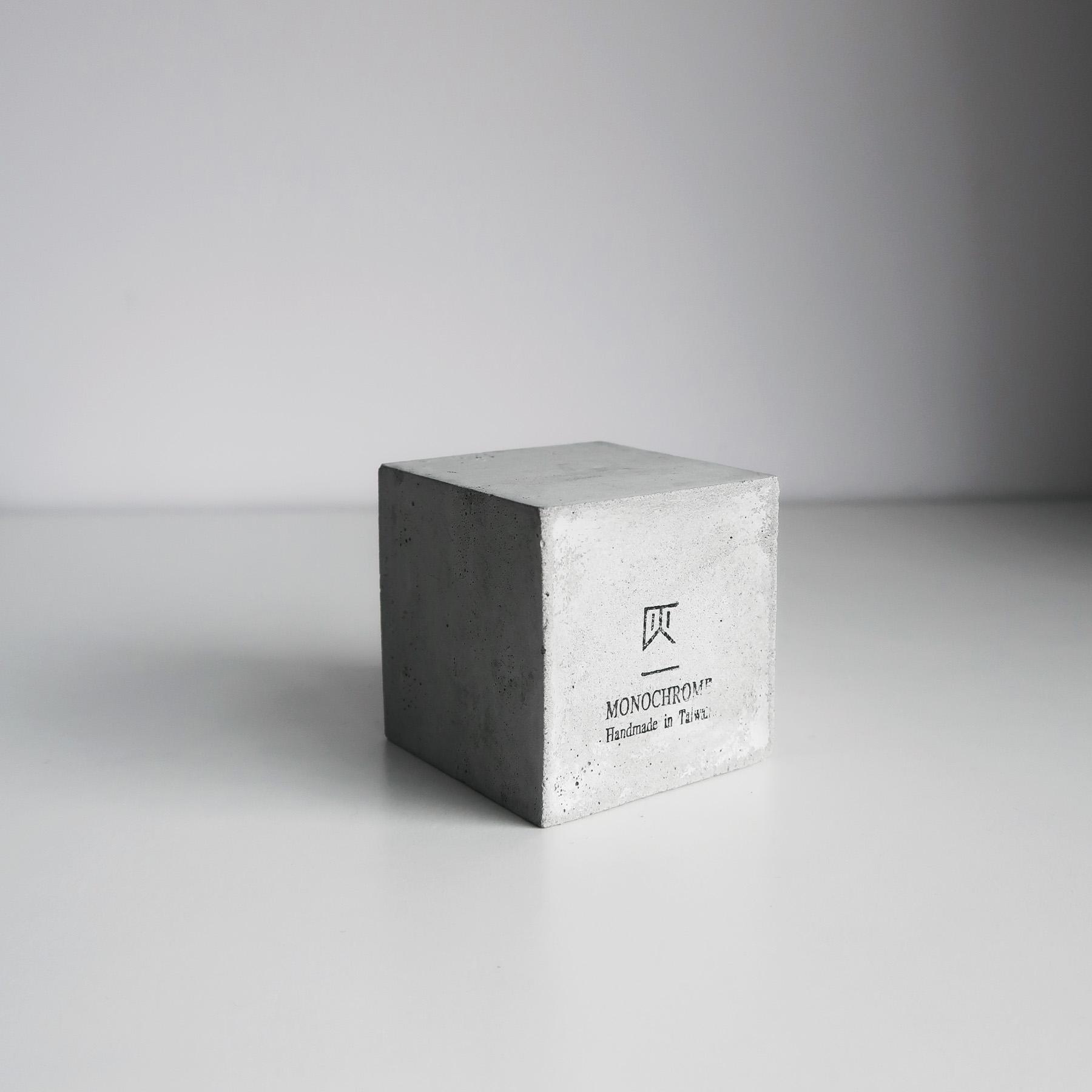 MINI CUBE 小方磚水泥蠟燭・飾品陳列・設計禮物