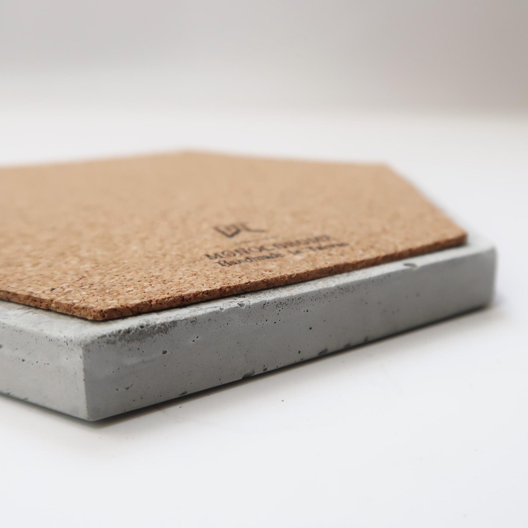 Concrete Design 水泥飾盤玻璃鐘罩・居家擺飾・飾品陳列