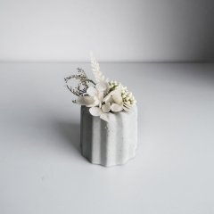 / CANELÉ 法式可麗露乾燥花水泥擴香石禮盒・告白詩歌 / Concrete aroma ston diffuser
