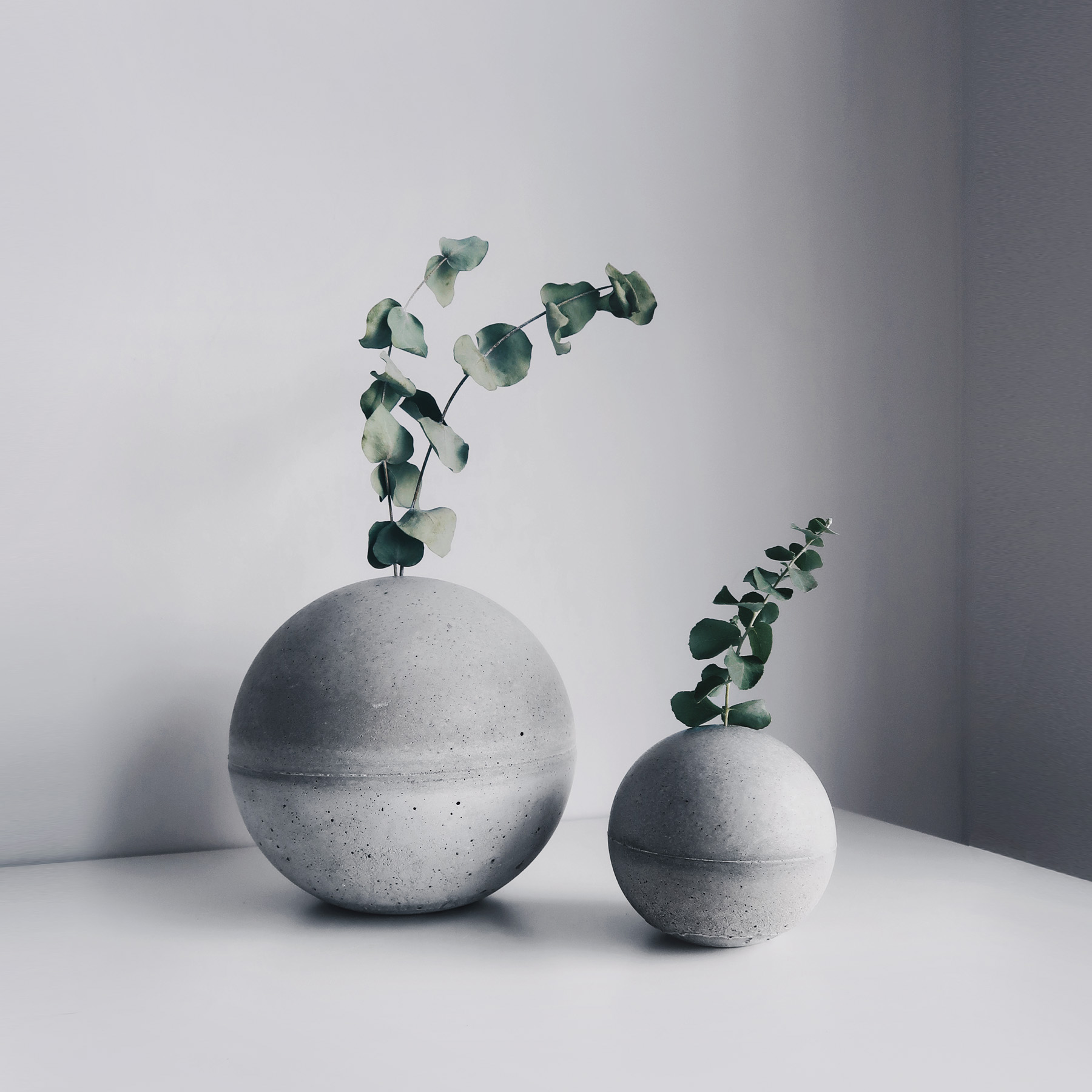 PLANET 小星球水泥花器・紙鎮・線香座 / Concrete vase, paper weight, incense holder