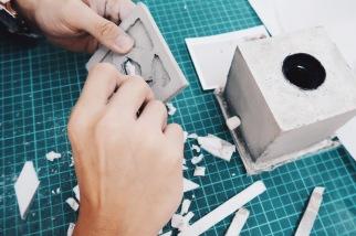 屏東美和科大 / 水泥創作課程紀錄:Day2