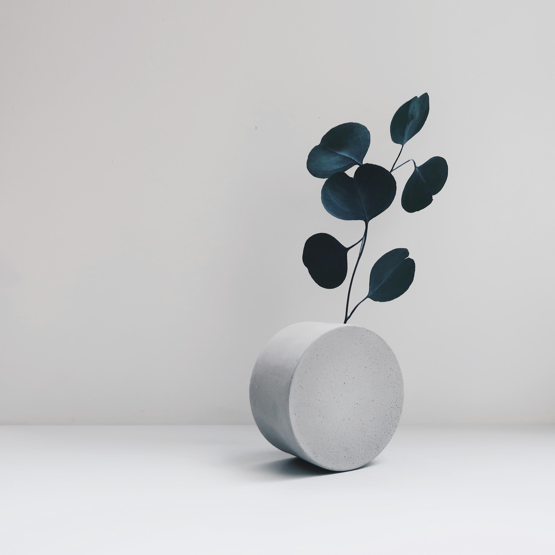FULL MOON 望月水泥極簡設計・水泥家飾・花器花瓶