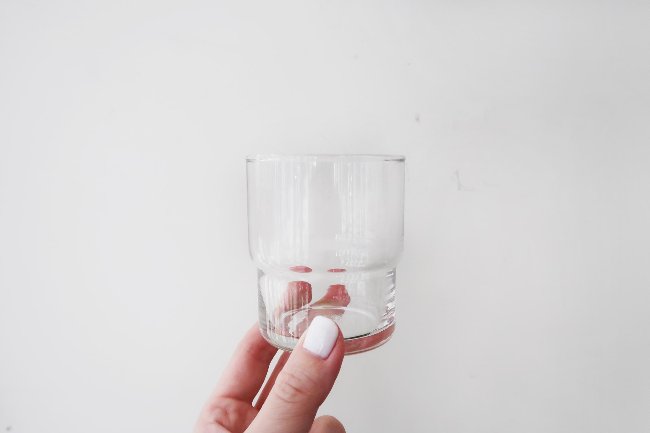 灰調|DIY手作教學:極簡粗獷・水泥玻璃杯 Sept 1